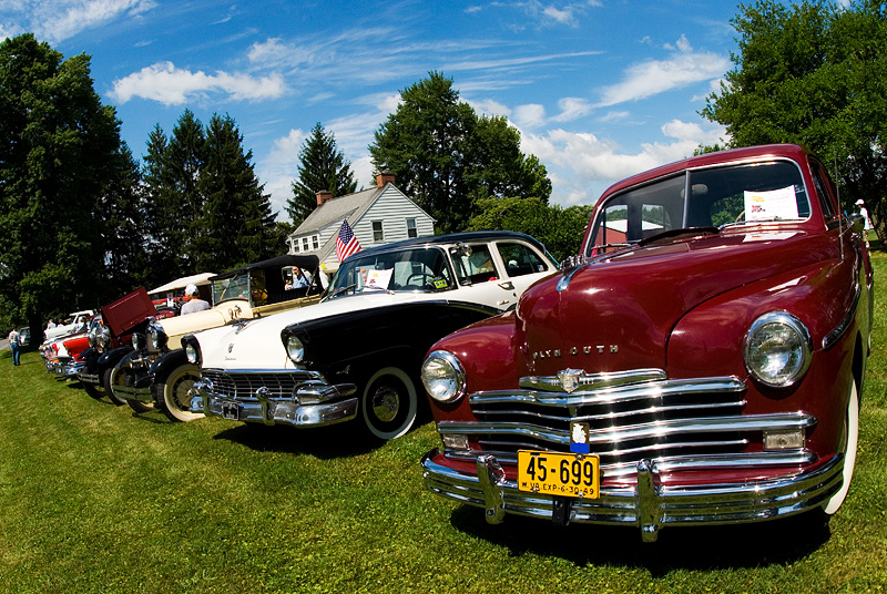 Antique Car, Truck and Tractor Show at the 2010 New Deal Festival