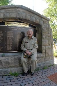 Bob Day, Original homesteader and Veteran
